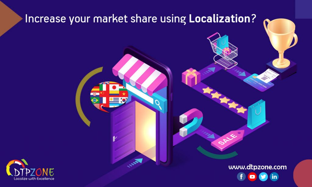 how to increase your market share using localization